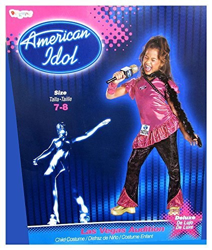 Disguise Girls 'American Idol Las Vegas Audition' Halloween Costume, Pink, M by Disguise (Las Vegas Halloween Costume)