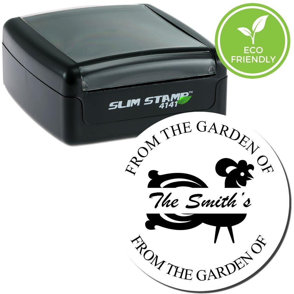 スリムスリムRooster Gardenスタンプ   B01MG2OIJ6