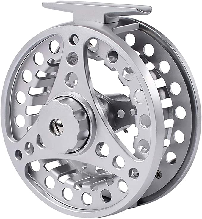 1 Fliegenfischerrolle aus Aluminiumlegierung 5//6 7//8 9//10 Gewicht mit 2