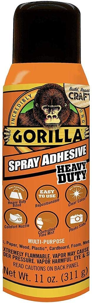 Gorilla Glue Adhesive Spray KIT Car Van SUV RV Camper Vehicle Automotive Thermal Insulation Sound Deadener /& Radiant Heat Barrier Mat 400 Sqft American Wholesale AWS 12 x 100 Roll