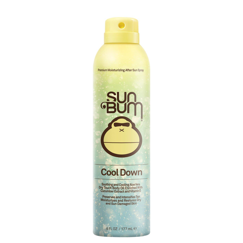 Sun Bum Cool Down Hydrating After Sun Spray Cooling  Vitamin E,Aloe & Cocoa Butter Spray for Instant Sun Burn Relief  Hypoallergenic,Gluten Free,Vegan 6ozSpray Bottle by Sun Bum