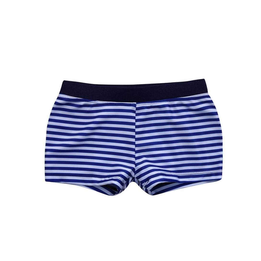 TM Elevin Swimsuit Kids Baby Boys Striped Beach Swimsuit Swimwear Swim Trunks Shorts Briefs