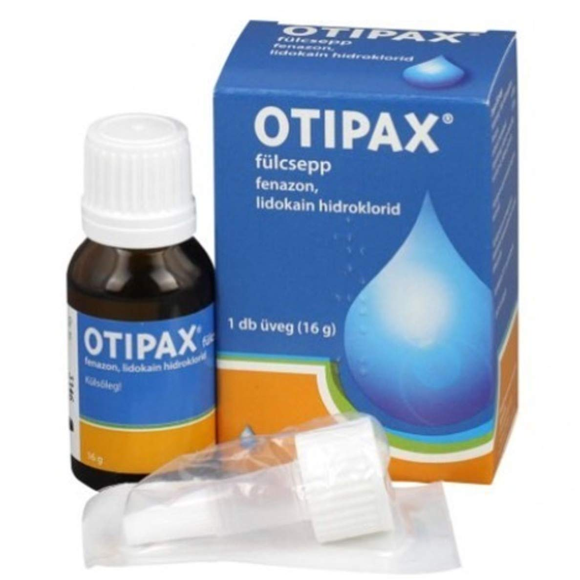 Otipax 16g Ear Drops for Ease Ear Pain Inflammation Relief Earwax