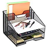 Athlen Desktop File Organizer - Black
