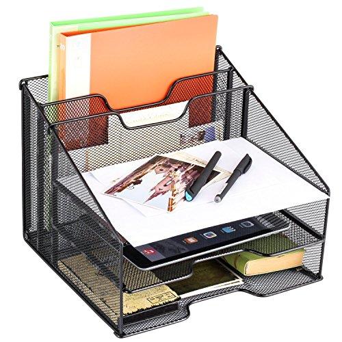 Athlen Desktop File Organizer - Black by Athlen