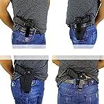 LIVIQILY Hidden Carry Weapon case Metal Clip Holster Belt Airsoft Gun Pistol Holster Left Right Hand Draw