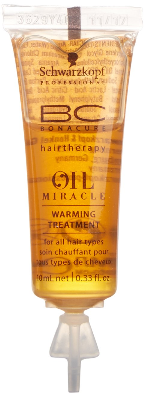 eb7f378aa0 Amazon.com : Schwarzkopf Professional BC Oil Miracle Warming Treatment  12x10ml : Beauty