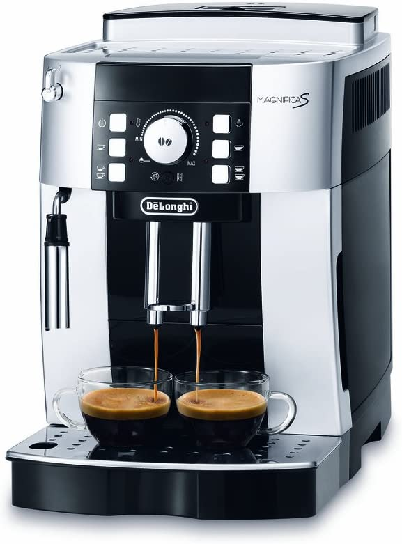 DeLonghi ECAM 21.110.SB Cafetera automática, Negro: Amazon.es: Hogar