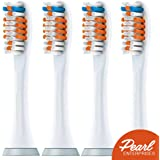 Generic Philips Sonicare PowerUp Replacement Brush Heads - 4 Pack
