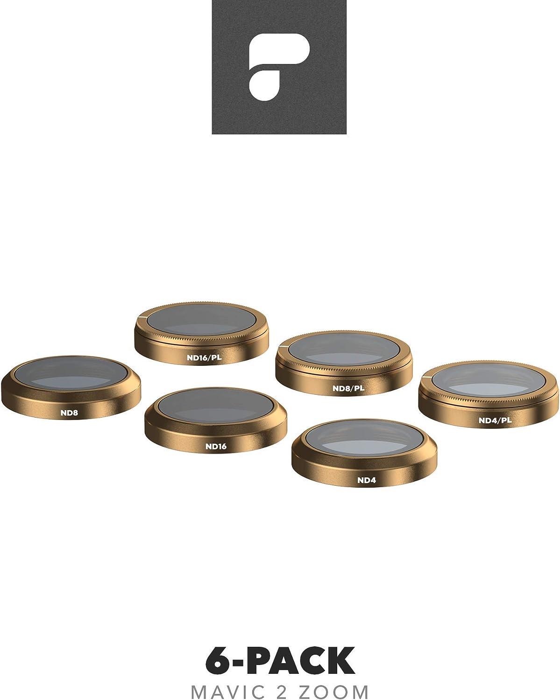 Filters for DJI Mavic 2 Zoom PolarPro Filter 6-Pack Cinema Series Mavic 2 Filters