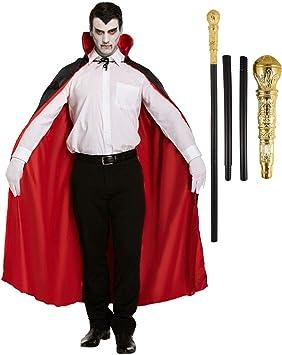 labreeze - Disfraz de Drácula de Halloween con Capa Reversible de ...