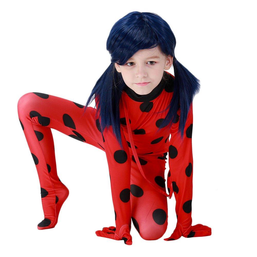 Da Mai Halloween Cosplay Ladybug Kid Costumes Chlid Little Beetle Suit by Da Mai (Image #3)