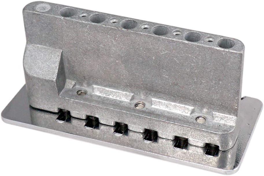 Guitar Tremolo Bridge Tailpiece Hardtail with Trem Bar Screws Wrench Springs Claw Lock Stud Set