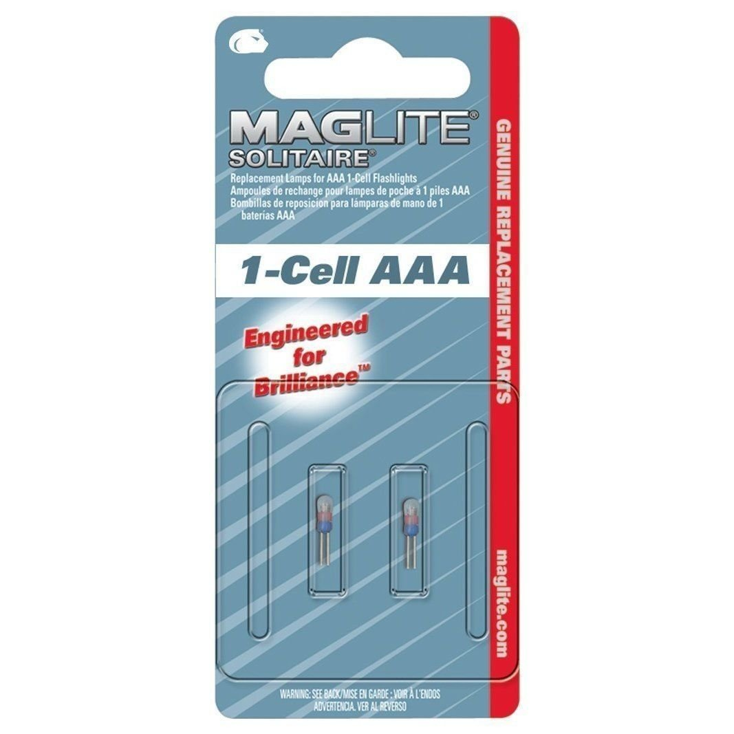 Amazon.com: MagLite LK3A001 Solitaire Mini Keychain Flashlight 2 Pack Replacement Mag Bulbs: Kitchen & Dining