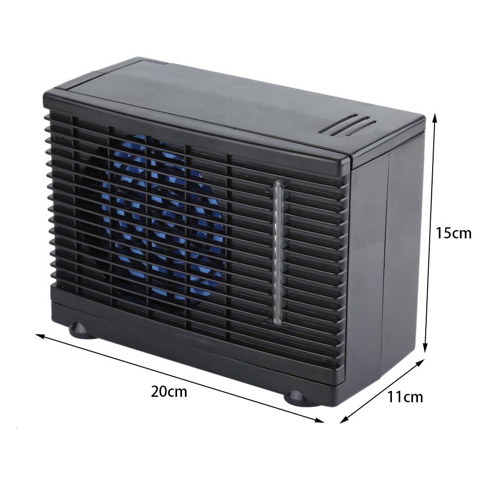 12V tragbare Auto Mini Auto LKW Klimaanlage Cool Fan Auto Fenster Air Vent Ventilator K/ühler mit Zigarette Auto Klimaanlage