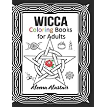 Wicca Coloring Books for Adults