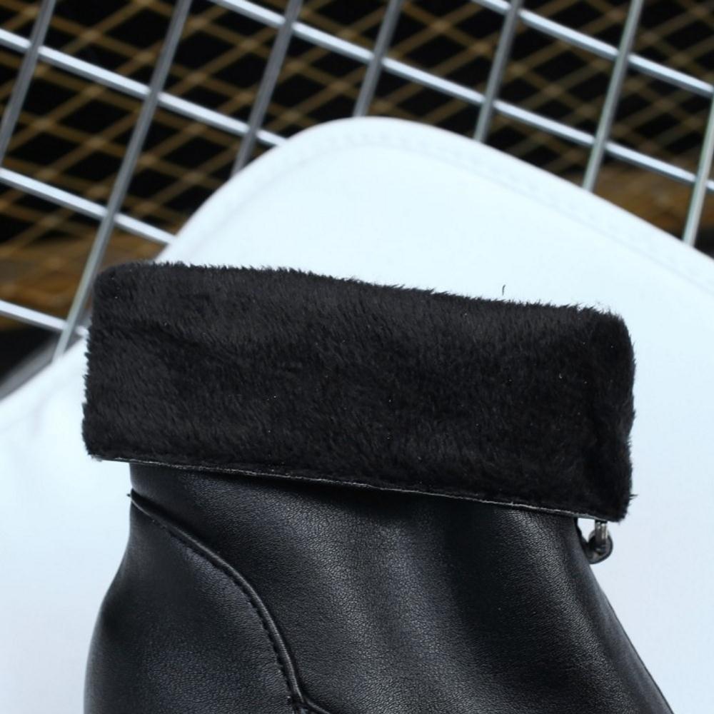 RAZAMAZA Women Fashion Bootie Zipper