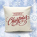 PPBUY Merry Christmas Pillow Case Gifts under Christmas Tree Xmas...