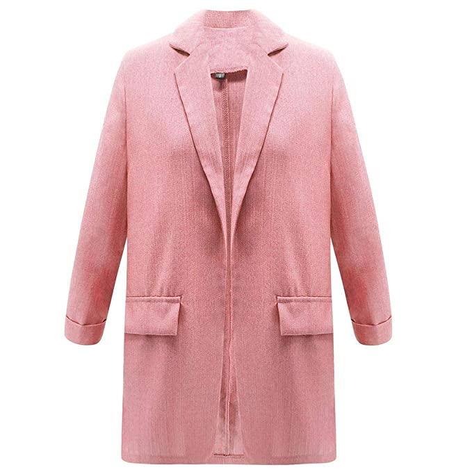 Amazon.com: SMTSMT_coat - Chaqueta para mujer, estilo casual ...