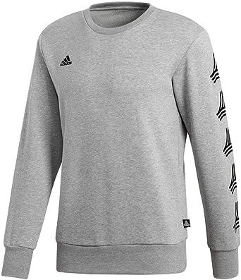 TALLA L. adidas Tan Crew Camiseta, Hombre