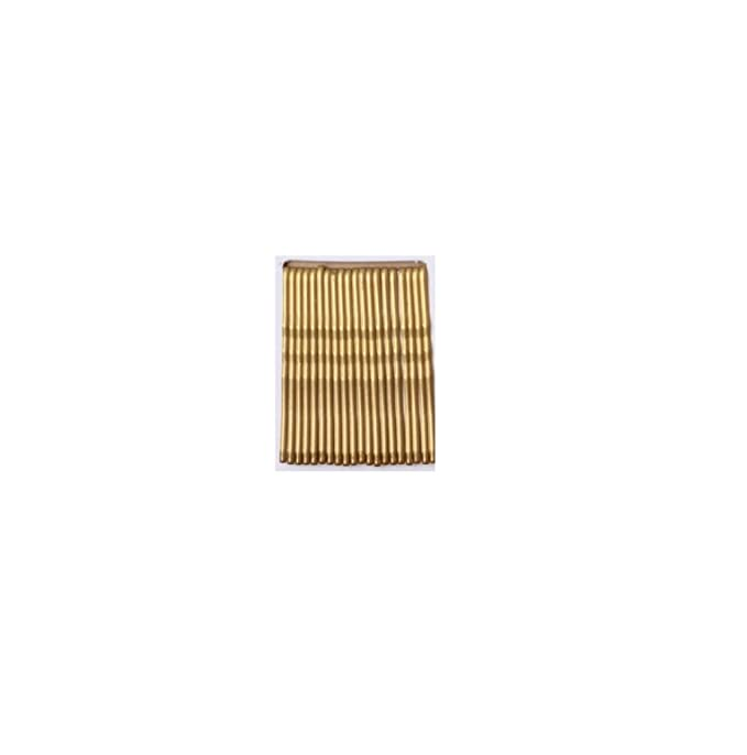 2 x Pack 36 silver or gold kirby hair grips metal 4.5cm clips slides bob pins