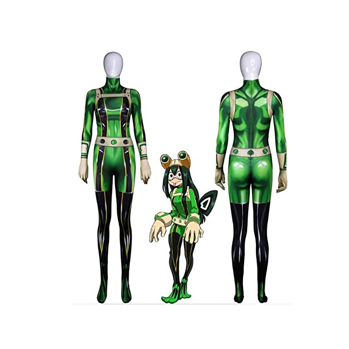 Amazon Com Lmm Anime Zentai Hero Academia Cosplay Costume