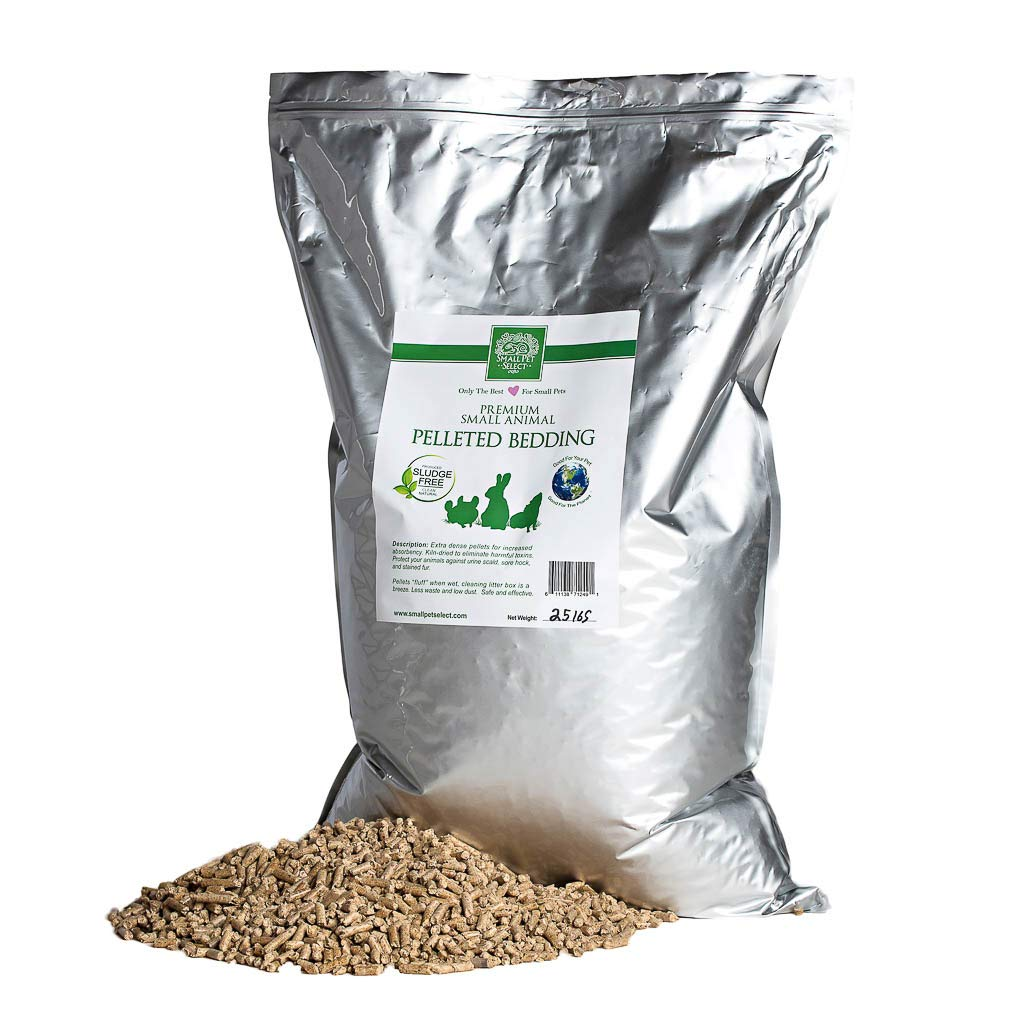 Small Pet Select All Natural Pellet Bedding, 25 lb. by Small Pet Select (Image #1)