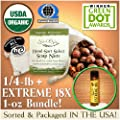NaturOli Soap Nuts / Soap Berries - SALE! - 4 oz USDA ORGANIC + 18X BONUS! Select Seedless, Wash Bag, 8pg info, Tote Bag. Organic Laundry Soap / Natural Cleaner!