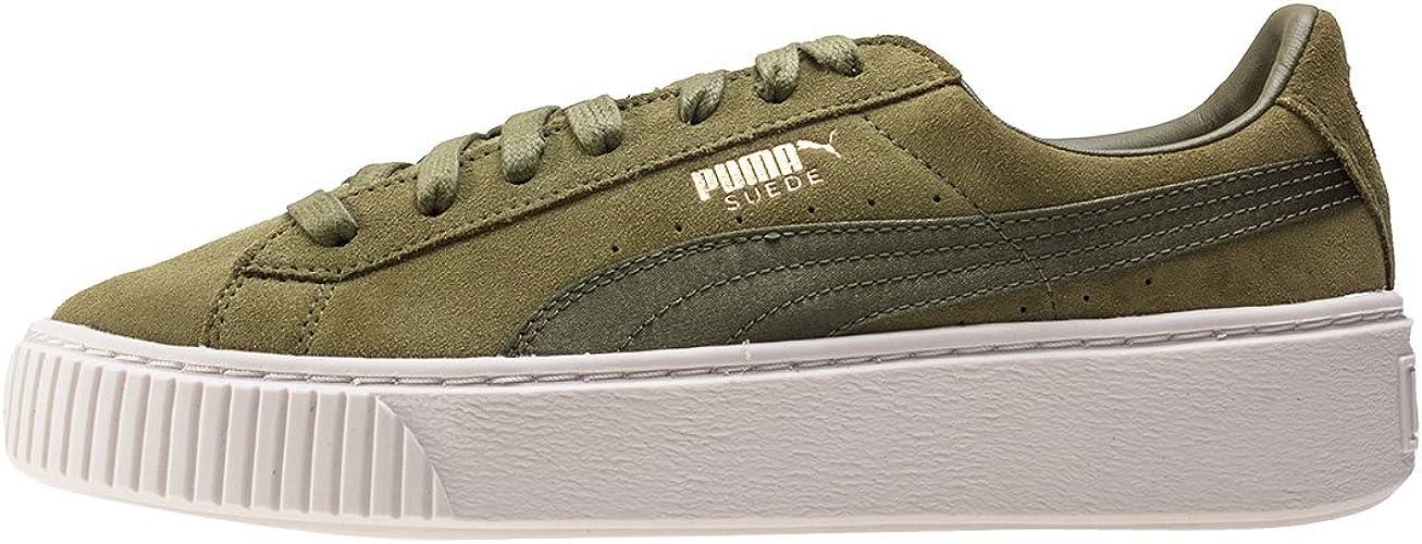 PUMA Baskets Basses WNS Suede Platform Satin