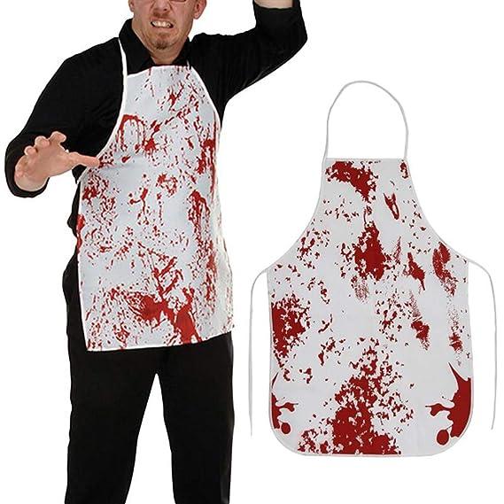 Amazon.com: IronBuddy - Delantal de sangre para Halloween ...