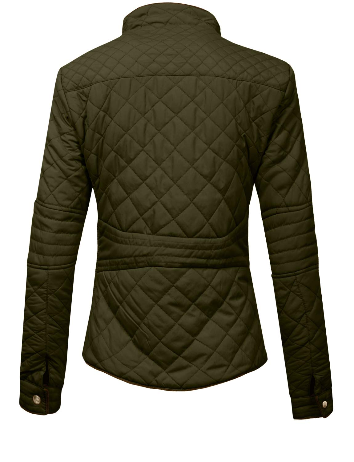 J. LOVNY Womens Lightweight Quilted Warm Zip Jacket/Vest with Pocket Details by J. LOVNY (Image #3)