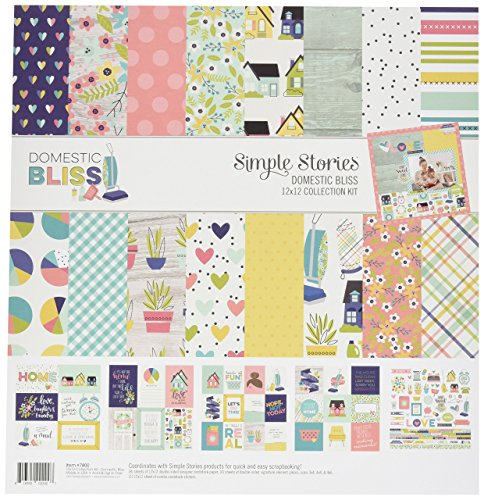 Simple Stories Domestic Bliss 12x12 Collection Kit -