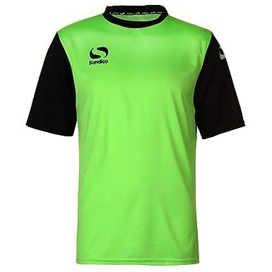 8f39442c49d Sondico Mens S Pro T Shirt Green/Black XXL: Amazon.co.uk: Clothing