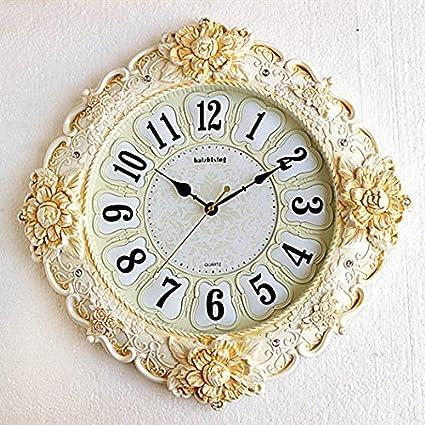 SSBY Salón decoración creativa moderna vintage retro reloj reloj reloj relojes murales de silencio del arte