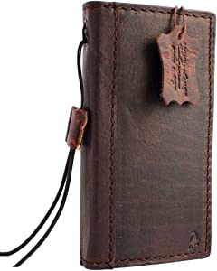 Genuine Italy Leather Case for iPhone 6 6s 4.7 Book Wallet Cover Handmade Luxury Cards Slots Slim Classic Brown DavisCaseⓇ