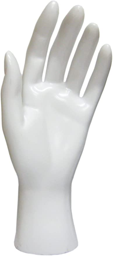 Black Hand Jewelry Display Stand Female Hand Mannequin Model Props