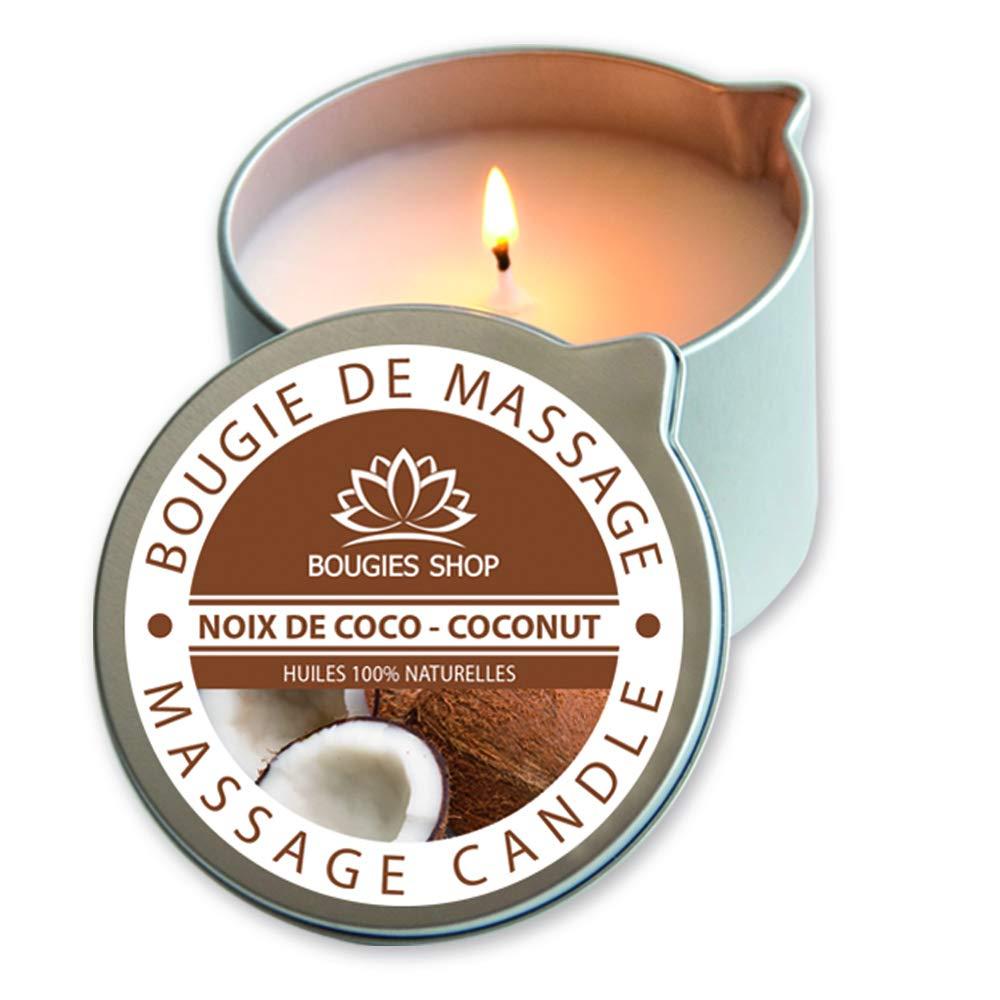 BOUGIES SHOP Bougie de Massage Sorbet Poire