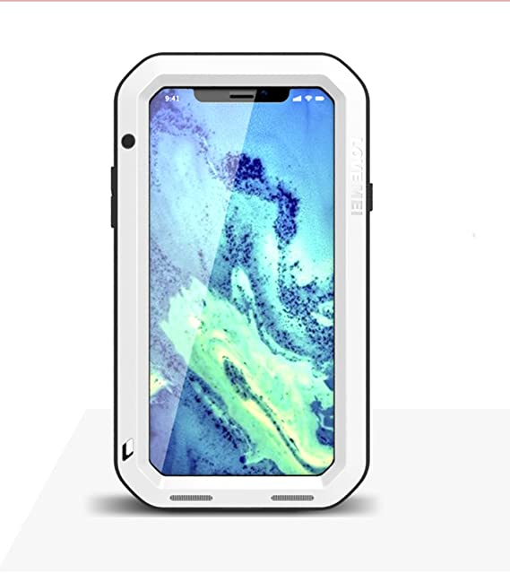 new product dfbd9 fd6b2 Amazon.com: iPhone X Case,Mangix Love Mei Water Resistant Shockproof ...