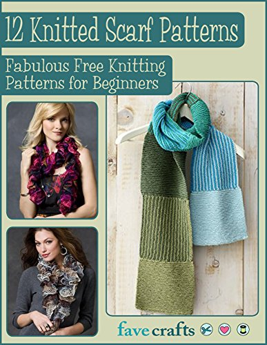 12 Knitted scarf Patterns