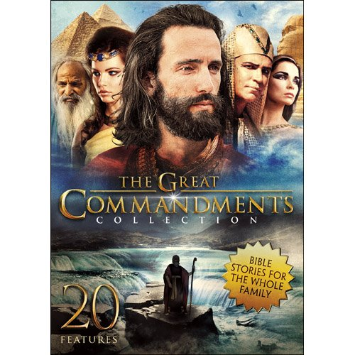 DVD : Great Commandments Collection (Full Frame, Slim Pack, 3PC)