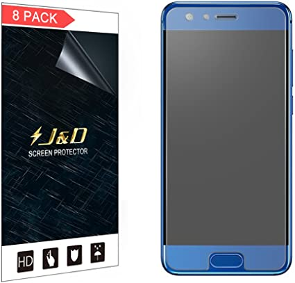 J&D Compatible para 8-Pack Protector de Pantalla para Honor 9 ...