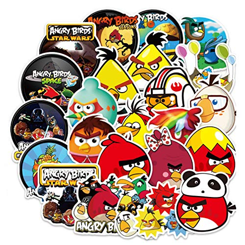 100pcs Angry Birds Game Stickers for Laptop