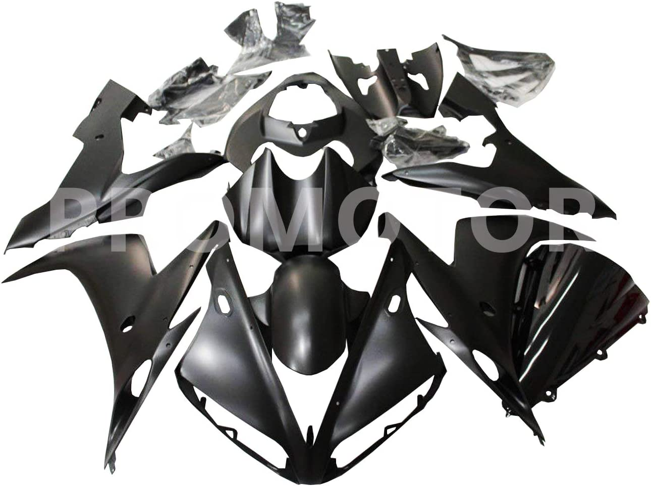 Pieces//kit: 20 ZXMOTO Y1005RED Motorcycle Bodywork Fairing Kit for Yamaha YZF R1 2004-2006 Red