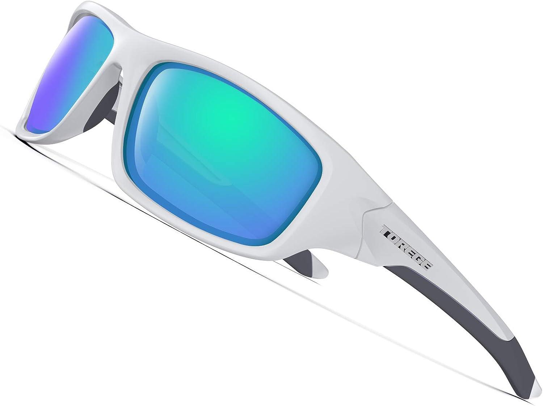 TOREGE Polarized Sports Sunglasse
