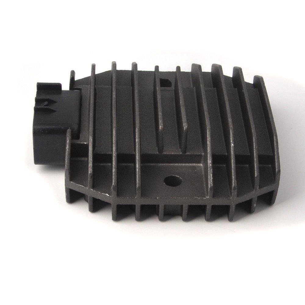 Zz Pro Voltage Regulator Rectifier for Yamaha YZF R6 06-12 XVS 125//200//650//1100 RHINO 450//660 KODIAK400 GRIZZLY600 FZ6R BT1100 VP300 WR250R YFM350 SH650D-11 5BN-81960-00-00