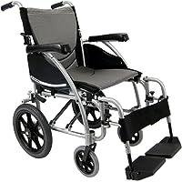 Karman Healthcare S-115-TP Ergonomic Ultra Lightweight Manual Wheelchair, Pearl Silver, 16-Inch Seat Width