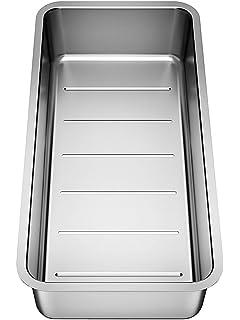 blanco 227 689 resteschale siebschale edelstahl zubehör spüle ... - Spülbecken Küche Edelstahl