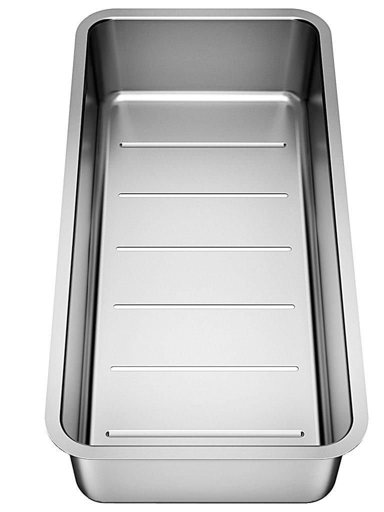 Acero inoxidable, Acero inoxidable, 197 mm, 417 mm, 80 mm Coladores BLANCO 227692 accesorio y suministro para el hogar