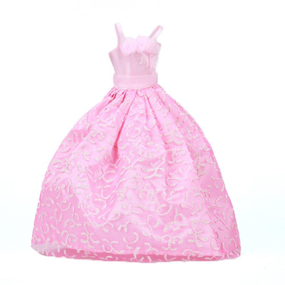 Vestido Ropa de Novia Boda Vestido Princesa para Muñecas Barbie ...