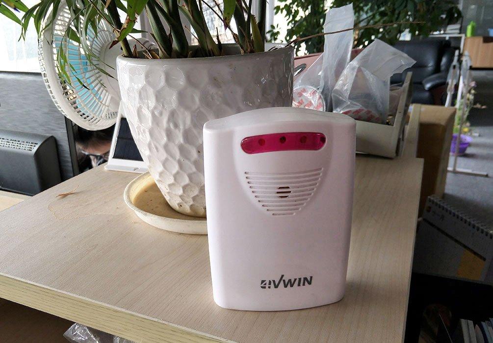 4/vwin DIY entrada alarma receptor inal/ámbrico para entrada sistema de alerta